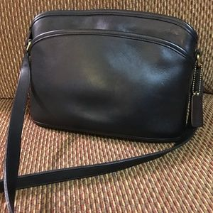 COACH Vintage Black Leather ANDERSON XBody #9976